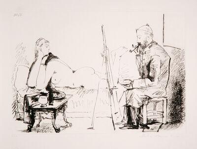Pablo Picasso, 'Le Peintre et son Modèle, 1955', 1979-1982