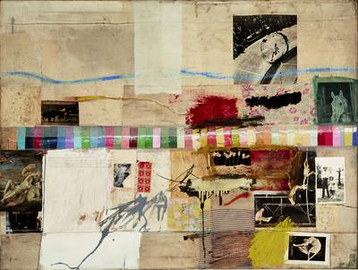 Robert Rauschenberg, 'Small Rebus', 1956
