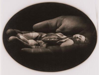 Jerry Uelsmann, 'Nude in Hand', 1972 / 1972c