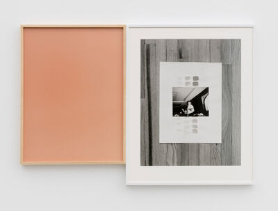 Leslie Hewitt, 'Riffs on Real Time with Ground (Rose)', 2018