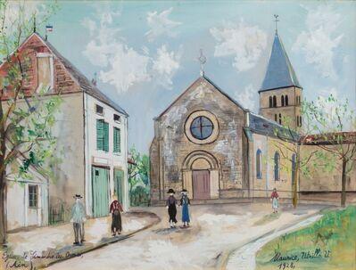 Maurice Utrillo, 'Eglise de Simandre les-ormes (Ain)', 1948