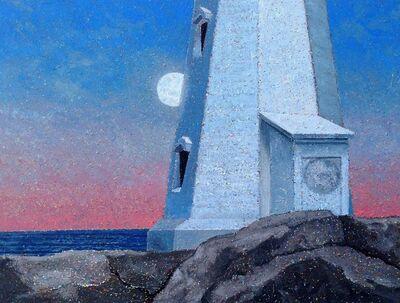 Steven Rhude, 'Moon and Lighthouse', 2019