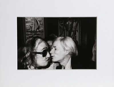 Christopher Makos, 'With Salvador Dali (Warhol: Ten Images)', 1978 (Printed in 1989)