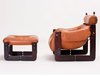 Percival Lafer, 'Lounge Chair and Ottoman', 1970