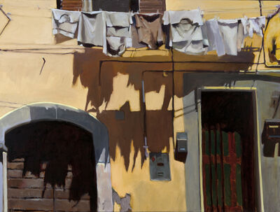 Connie Hayes, 'Yellow and Gray, Civita'