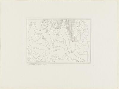 Pablo Picasso, 'Sculpteur et groupe sculptorique from Vollard Suite', 1937