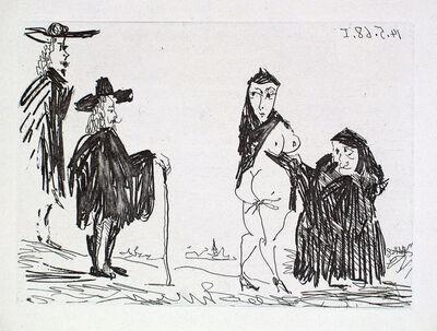 Pablo Picasso, 'La Célestine en Action: Racolage', 1968
