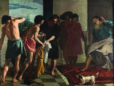 Diego Velázquez, 'Joseph's Tunic', ca. 1630