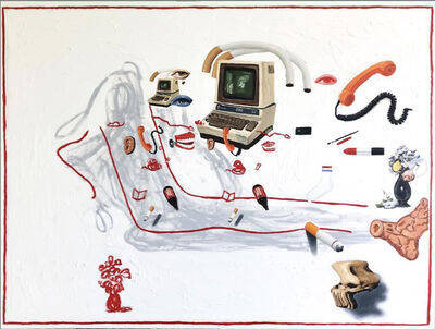 Emilio Villalba, 'Reclining Figure', 2019