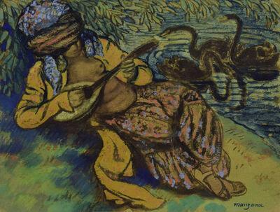 George Manzana-Pissarro, 'L'Orientale à la Mandoline', 20th century