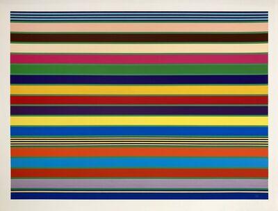 Kenneth Noland, 'Stripes', 1998