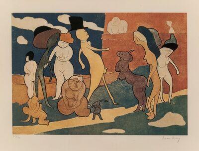 Man Ray, 'Premiere Promenade', 1970
