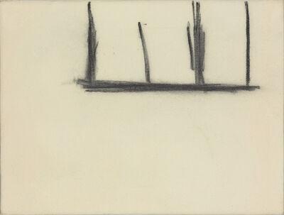 Robert Motherwell, 'Open No. 140: Charcoal on Cream', 1969