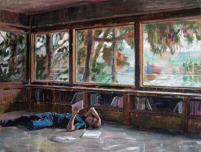 Dénesh Ghyczy, 'Reading Room', 2019