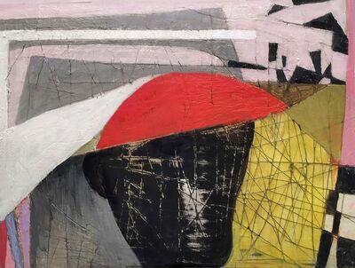 Brenda Goodman, 'Sliding Red', 2017