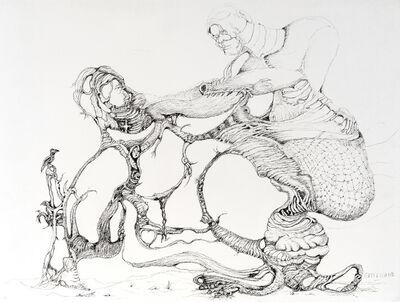 Antoine de Castellane, 'Etude Arborescere F', 2019