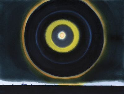 Scott Kelley (b. 1963), 'Halo, Antarctica, 10PM'