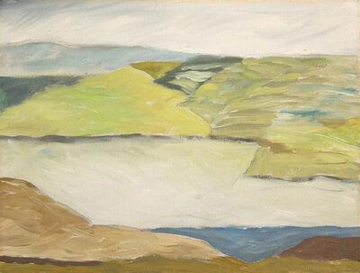 Lee Hall, 'MAINE WINTER EDGE', 1990
