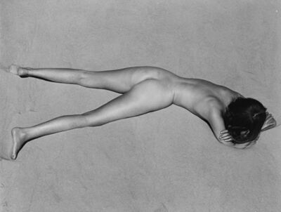 Edward Weston, 'Nude on sand', 1936