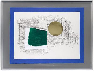 Joëlle Tuerlinckx, 'Surcollage d'atelier #1 - série paléolithique, Surcollage d'atelier #1 - série Frottage-sol 'Galerie nächst St.Stephan Rosemarie Schwarzwälder' 2008-2016', 2016