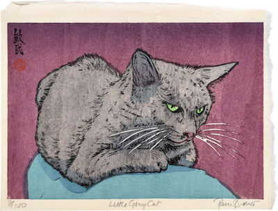 Paul Binnie, 'Little Grey Cat', 2019