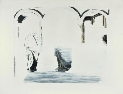Emilio Isgrò, 'Tempio Senza Ombre', 1991