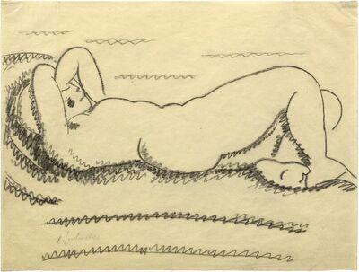 Alexej von Jawlensky, 'Reclining woman', 1912