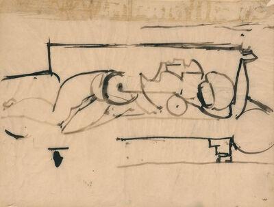 Franz Kline, 'Untitled, circa', 1945