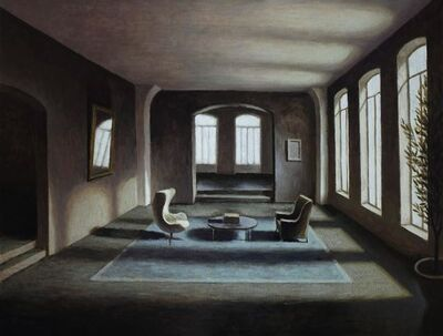 Marc Chalmé, 'Tapis bleu II'