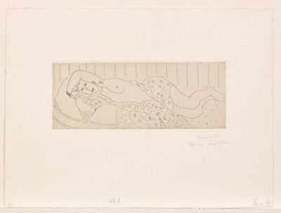 Henri Matisse, 'Nu Couche, drape, dans une etoffe fleurie', 1929