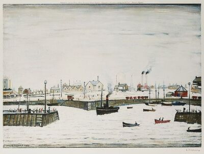 Laurence Stephen Lowry, 'The Harbour'