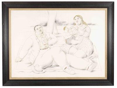 Fernando Botero, 'A Family', 2011