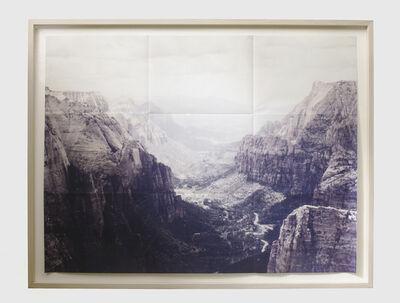Adam Jeppesen, 'U.S. Zion Canyon', 2015