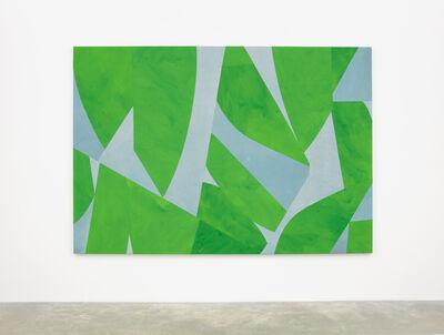 Sarah Crowner, 'Green Screen', 2018