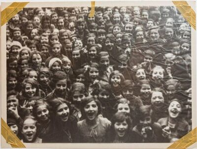 Christian Boltanski, 'Die Jüdische Schule Berlin 1939 Photolithograph Tracing Paper Taped Signed ed.60', Late 20th Century