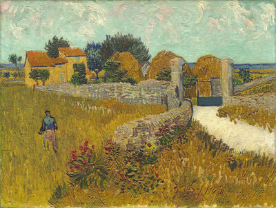Vincent van Gogh, 'Farmhouse in Provence', 1888