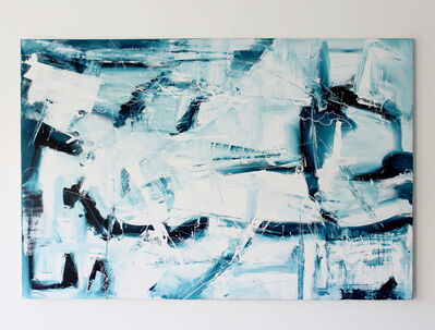 """Jacqueline Jandrell, '""""Shattered"""" - Acrylic on Canvas', 2017"""