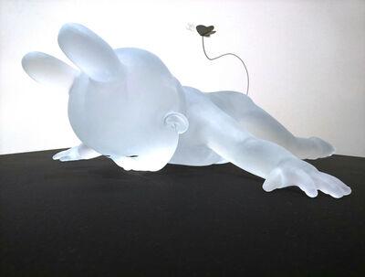 Koichi Matsufuji, 'Lying Baby With Butterfly', 2019