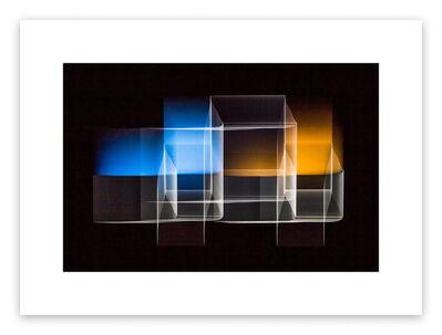 Luuk de Haan, 'Two bridged squares 1', 2013