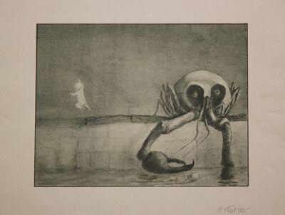 Alfred Kubin, 'Die Stunde Der Geburt', 1903