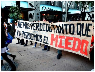 Gustavo Speridião, 'Série Movimento , Ayotzanapa vive, Mexico 2014', 2015