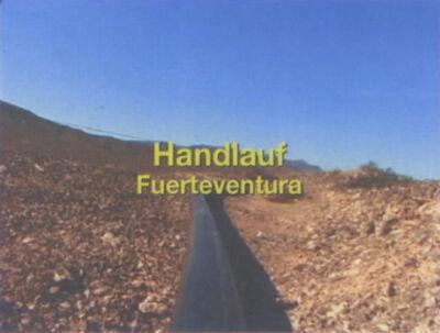 Christoph Rütimann, 'Handlauf Fuerteventura', 2005