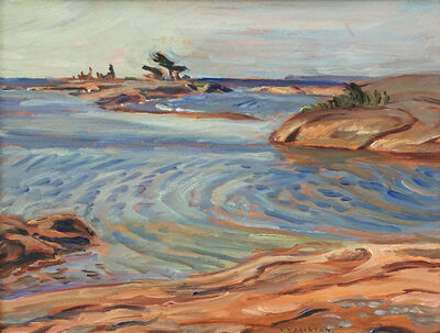 Alexander Young Jackson, 'Split Rock Islands, Georgian Bay', 1961
