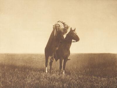 Edward Sheriff Curtis, 'The Prairie Chief', 1907-1930
