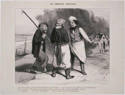 Honoré Daumier, 'Les Canotiers Parisiens: Tiens! Moi qui croyais que nous venions de découvrir…', 1843