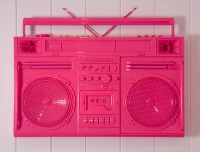 Lyle Owerko, 'Bubblegum Pink Boombox Sculpture / version 2.0', 2019