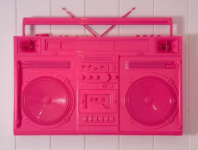 Lyle Owerko, 'Bubblegum Pink Boombox Sculpture / version 2.0', 2019