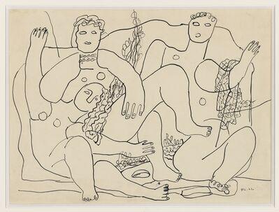 Fernand Léger, 'Baigneuses sur la plage', 1942