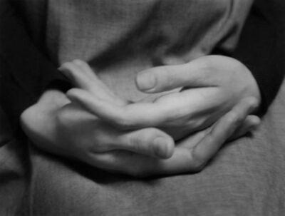 Paul Caponigro, 'Eleanor's Hands, Winthrop, MA', 1965