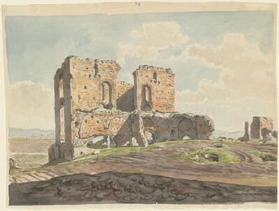 Carlo Labruzzi, 'The Great Villa of the Quintilii on the Appian Way', 1789